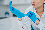 Gloves offer added protection from viruses and germs