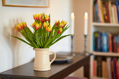 Buy stock photo A photo of beautiful in the living room