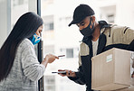 A contactless delivery keeps everyone safe