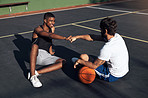 Participating in youth basketball is a fun way to build friendships