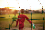 Life is like soccer - you need goals