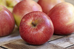 Tasty and beautiful apples