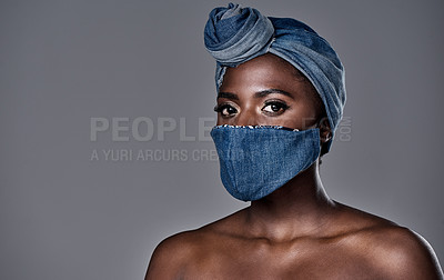 You can wear a mask and still make a fashion statement!