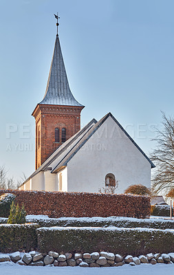 Buy stock photo Denmark in winter