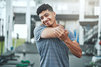 Even the most advanced-level gym-goers can get injuries