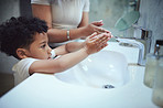 Washing your hands is important for prevent sickness