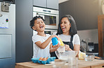 There are so many benefits to baking with kids