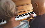 Playing the piano is our favourite thing to do together
