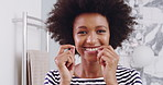 Perfect your smile by flossing regularly