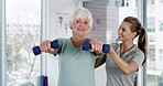 One of the benefits of physical activity is improved strength