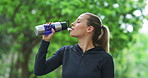 Workout warriors drink lots of water