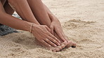 Nothing feels better than the sand beneath my feet