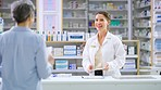 She's the friendliest pharmacist you'll find