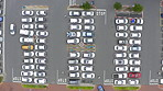 A busy parking lot means business is booming