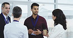 Attend more conferences, make more contacts