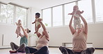Mum and baby yoga classes is so uplifting