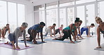 There's nothing like the energy in a group yoga class