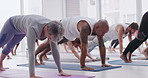 Yoga leads to a stronger body